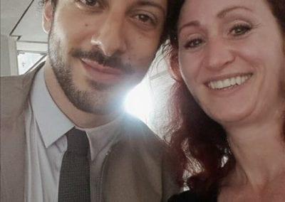 Schauspieler Fahri Yardim I Heidi Debbah Maskenbildnerin und Visagistin