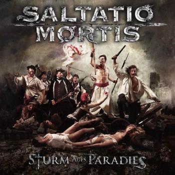 CD Cover Sturm ins Paradis von Saltatio Mortis / Heidi Debbah Maskenbildnerin & Visagistin